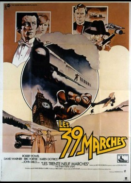 affiche du film TRENTE NEUF MARCHES (LES)