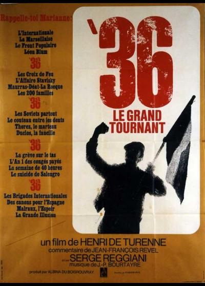 affiche du film TRENTE SIX LE GRAND TOURNANT