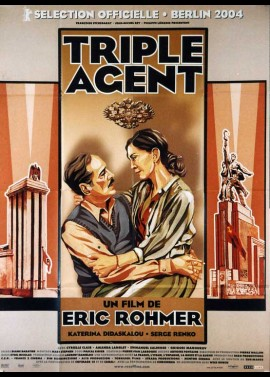 TRIPLE AGENT movie poster