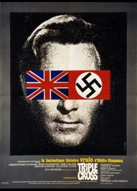 affiche du film TRIPLE CROSS / LA FANTASTIQUE HISTOIRE VRAIE D'EDDIE CHAPMAN
