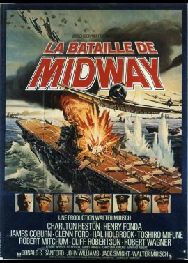 affiche du film BATAILLE DE MIDWAY (LA)